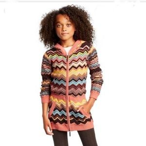 NWT Missoni for Target full zip sweater